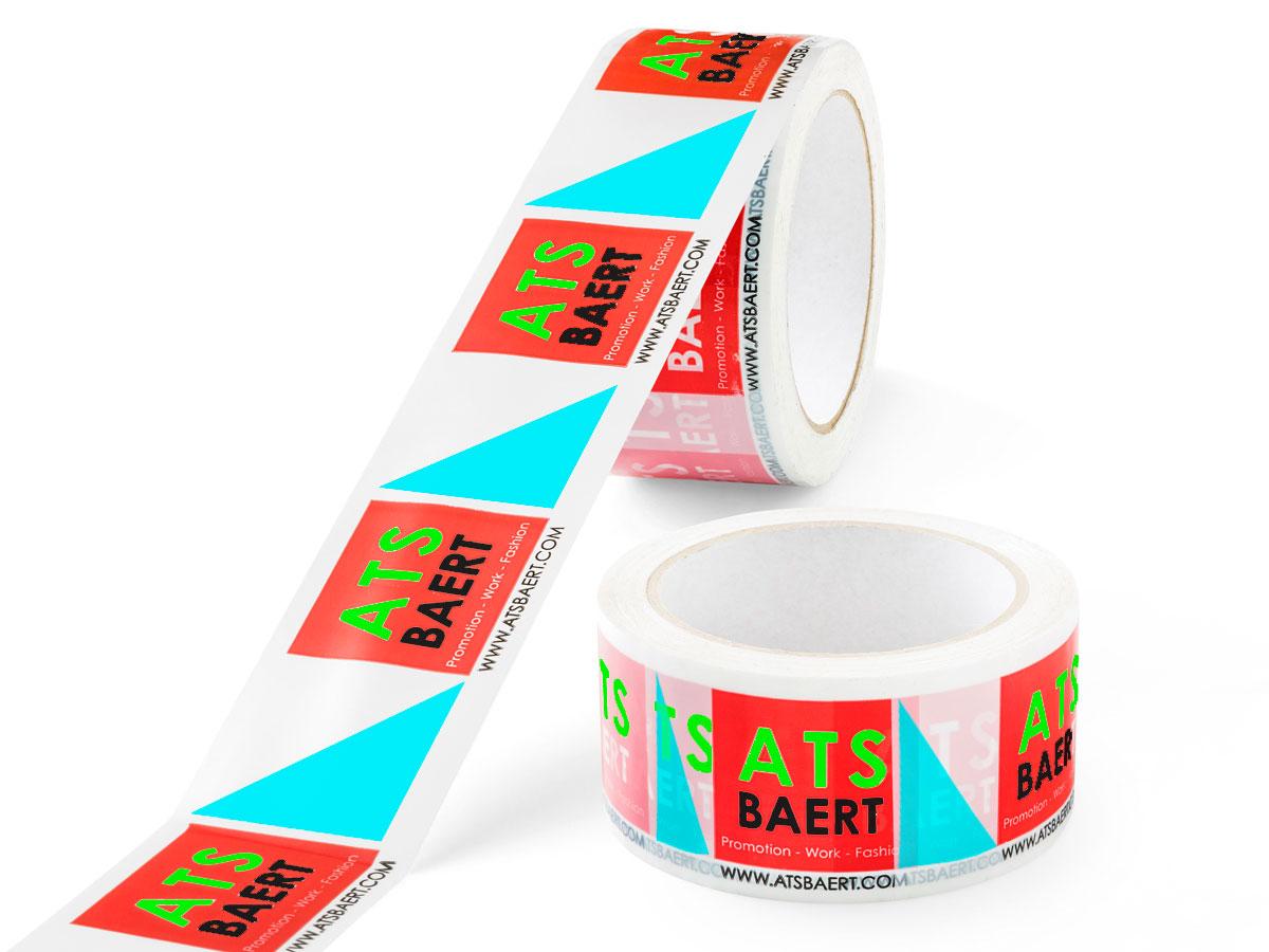 Bedruk tape in 4 kleuren
