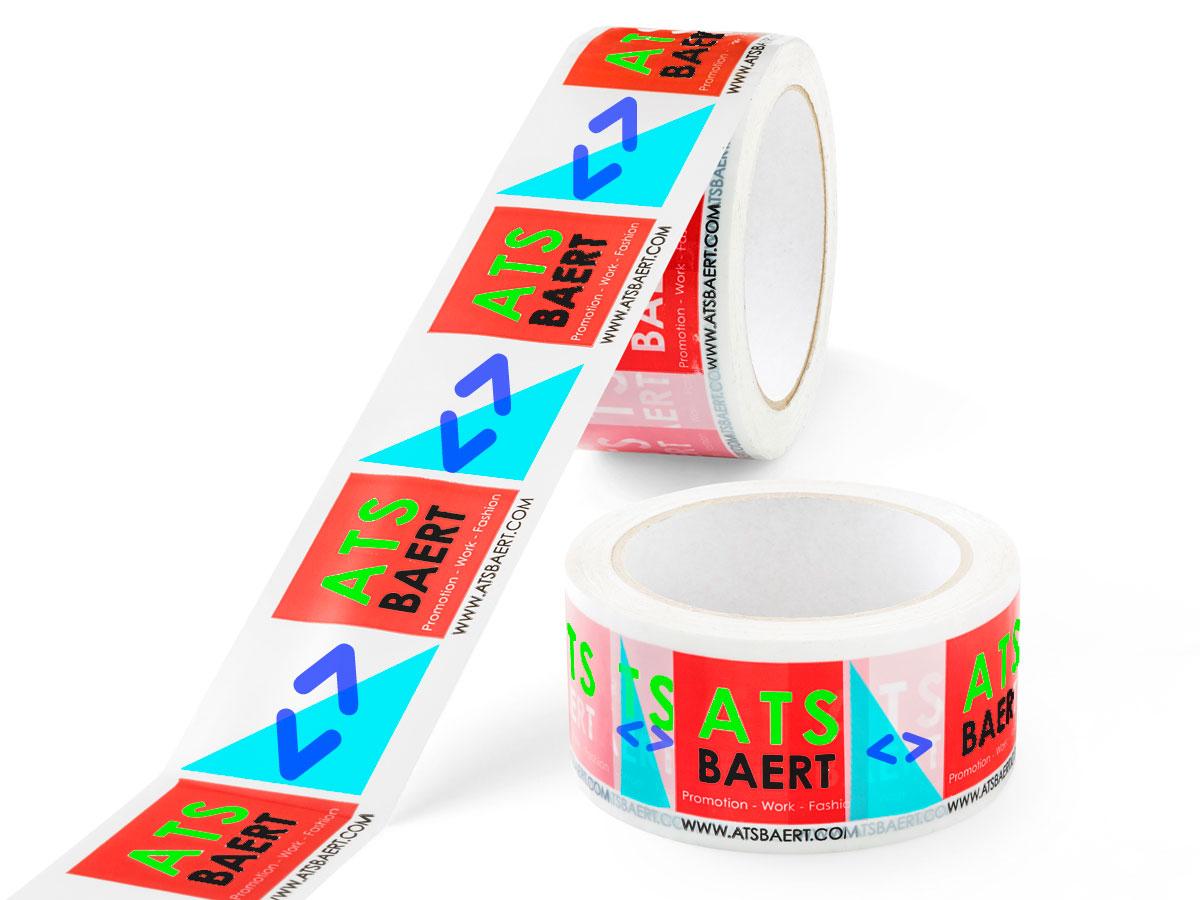 Bedruk tape in 5 kleuren