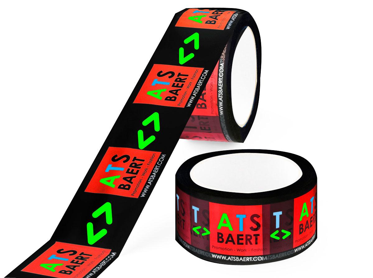 Bedruk tape in diapositief in 4 kleuren