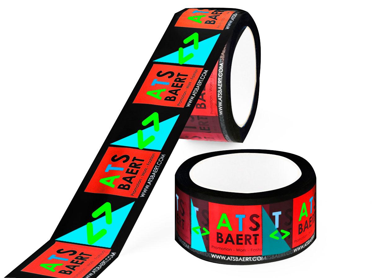 Bedruk tape in 5 kleuren diapositief