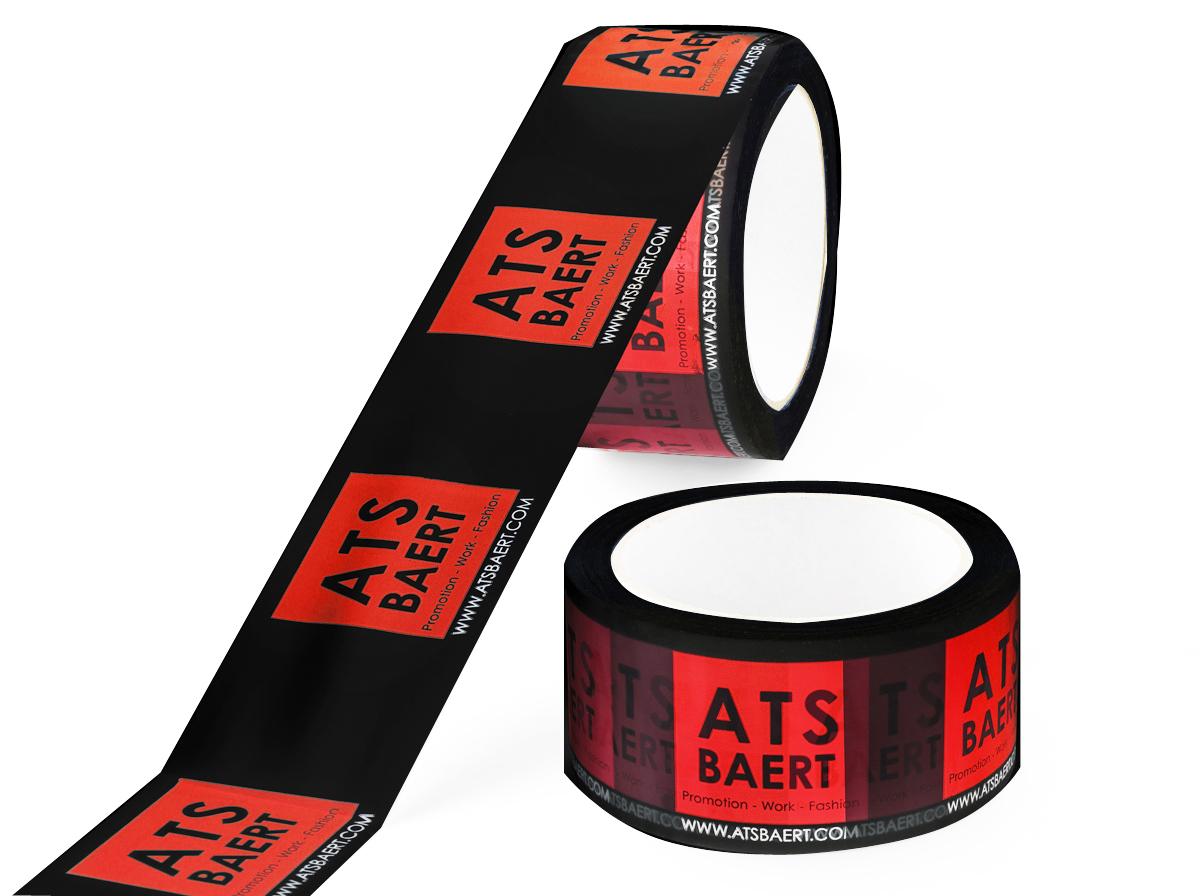 Bedruk tape in 2 kleuren diapositief